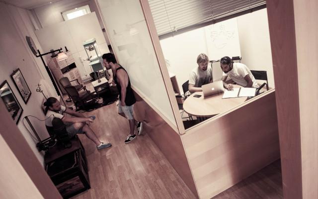 Sala de reuniones de Pipoca Coworking