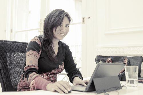 Doménica Vargas, coworker en Pipoca Coworking