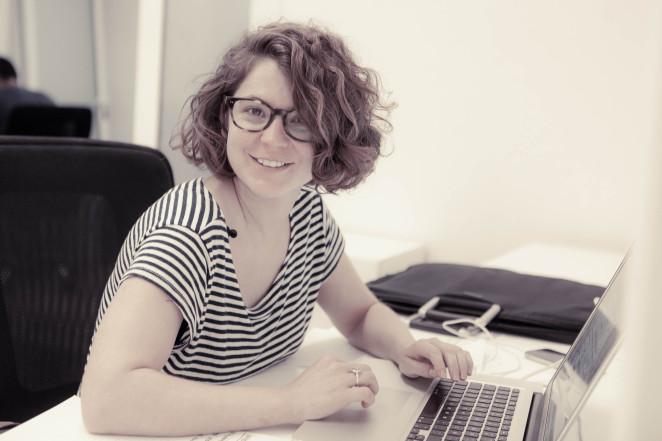 Helena Matamala, coworker en Pipoca Coworking